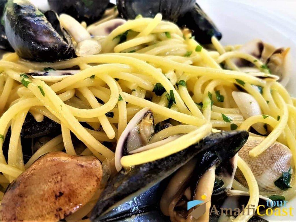 Ristorante Lido Azzurro - spaghetti with clams