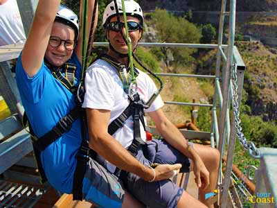 Fjord of Furore Zipline: fly like a bird