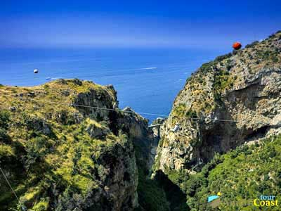 volo dell'angelo in costiera amalfitana - zipline amalfi coast